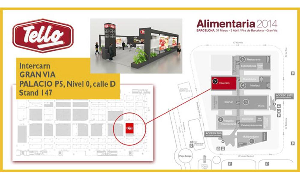 Tello presente en alimentaria 2014 grupo tello alimentaci n - Cocinas tello ...