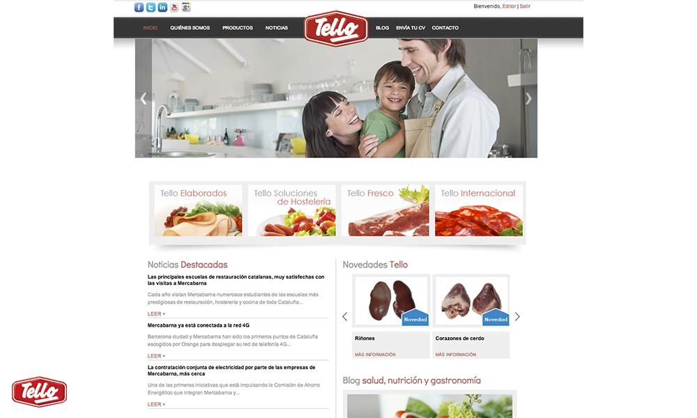 Nueva p gina web www tello es grupo tello alimentaci n - Cocinas tello ...